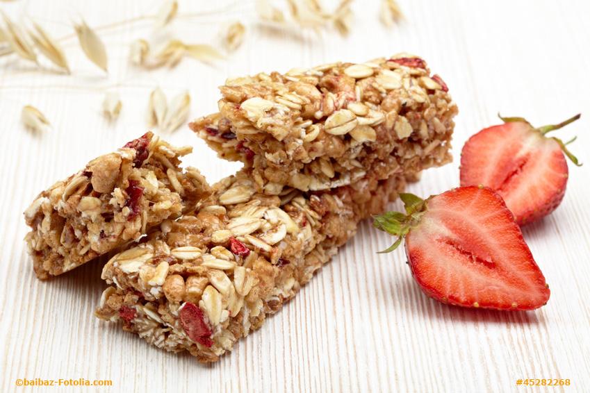 Bekannte Fitness-, Protein- oder Müsli- Riegel, ideale Snacks für  AP52